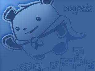 Pixipets Panda Wallpaper