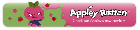 Appley Rotten - Check out Appley's new comic!